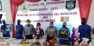 nicaragua, bluefields, manualidades, presos,