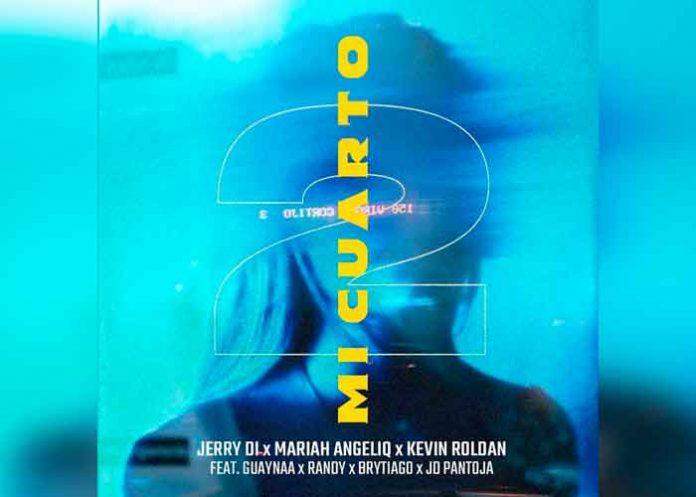 musica, estreno, youtube, jerry di, mi cuarto 2, mariah angeliq, kevin roldan,