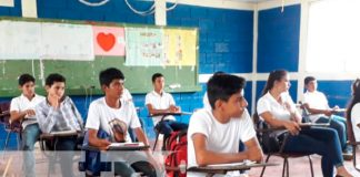 nicaragua, rio san juan , mined, estudiantes