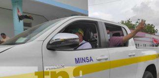 nicaragua, managua, minsa, camioneta, salud,