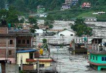 nepal, monzon, lluvias, inundaciones,
