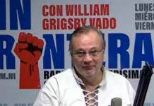 nicaragua, managua, telesur, William Grigby,