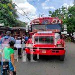 nicaragua, managua, atropello, nina, bus, bomberos,