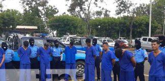 nicaragua, policia nacional, detenidos,