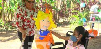 nicaragua, ometepe, niñez con capacidades diferentes, actividades recreativas,