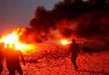 Israel, ataques, barrios palestinos, manifestantes,