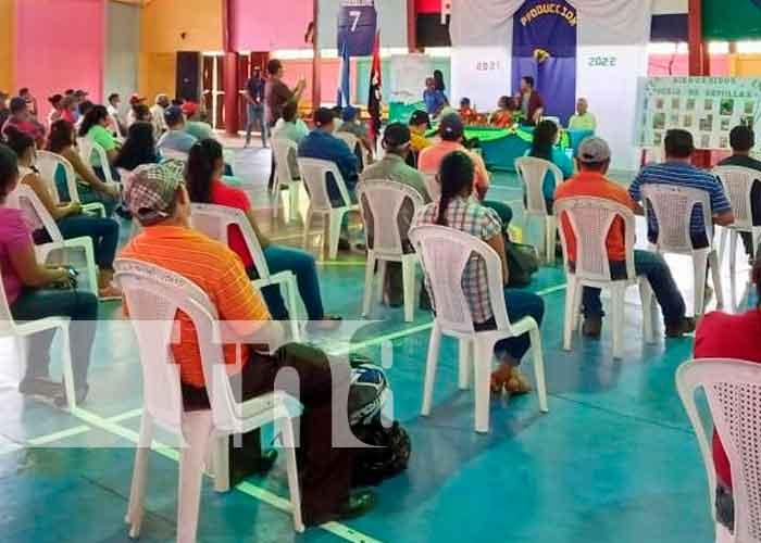Nicaragua, boaco, autoridades, plan de producción ,