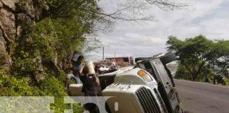 nicaragua, accidente rastra, matiguas,