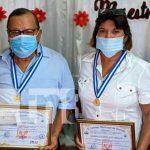 Nicaragua, somoto, homenaje, docentes,