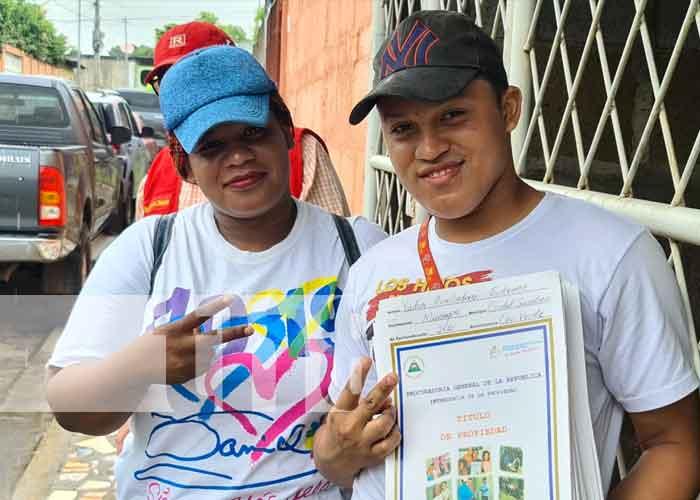 nicaragua, titulo de propiedad, ciudad sandino, seguridad juridica,