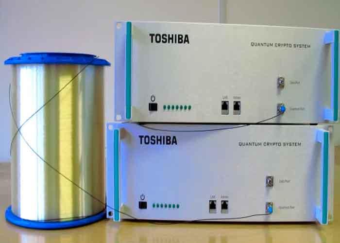 Toshiba, avance fundamental, ampliar el alcance, cifrado cuántico,