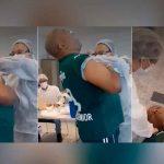 Video, Brasil, fobia a las inyecciones, desmayo,