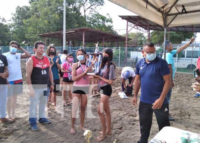 nicaragua, managua, premios, voleibol, playa,