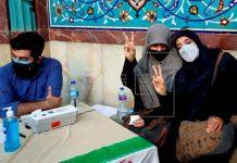 iran, inicio, elecciones, centros, votacion,