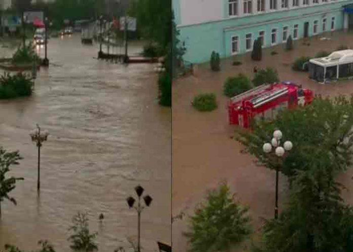 rusia, yalta, inundaciones, lluvias,