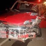 nicaragua, tipitapa, accidente de transito, fallecido, lesionado,