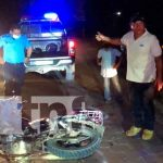 nicaragua, jalapa, accidente de transito, lesionados,