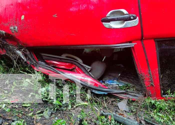 nicaragua, juigalpa, vuelco, accidente de transito,