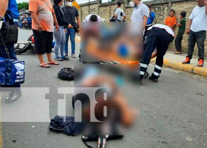 nicaragua, managua, accidente de transito, lesionados,