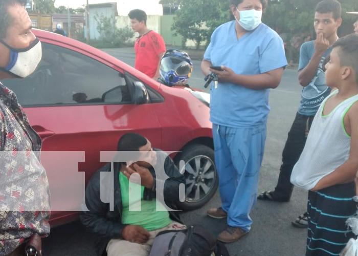 nicaragua, tipitapa, accidente de transito, lesiones,