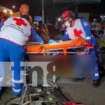 nicaragua, managua, accidente de transito, memorial sandino, lesionados,