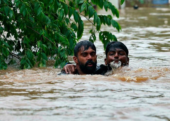 india, lluvias torrenciales, muertos, once personas, afectaciones