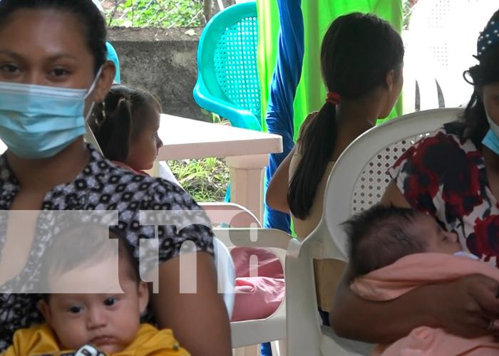 nicaragua, ometepe, ferias de salud, familias, minsa