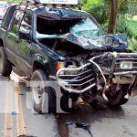 nicaragua, sucesos, accidente de transito, fallecido,
