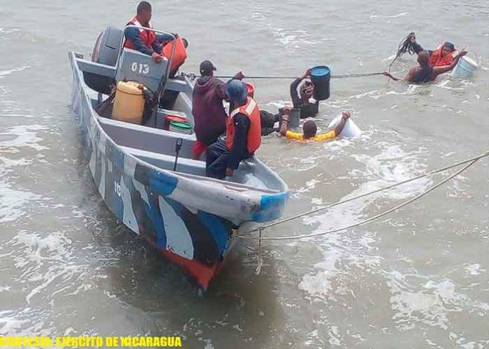 nicaragua, ejercito de nicaragua, rescate, tripulantes, busqueda