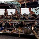 india, muertos, accidente, lesionados, bus