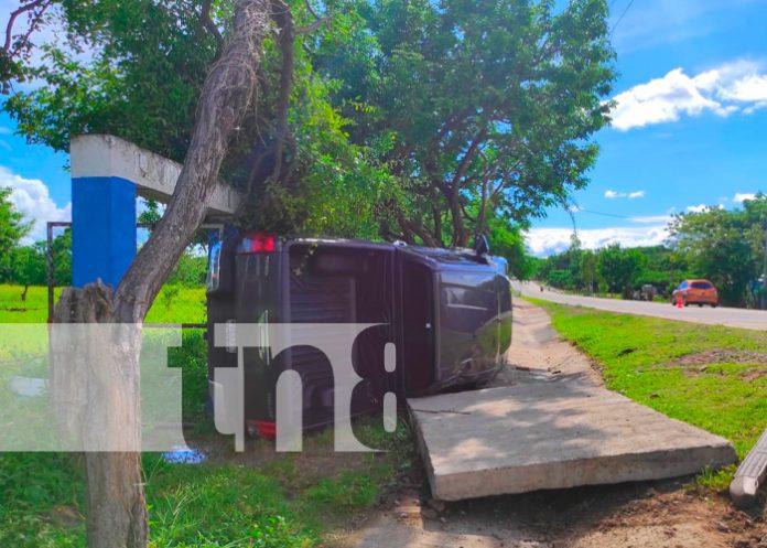 nicaragua, sucesos, accidente de transito, juigalpa,