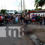 nicaragua, managua, accidente de transito, atropello,