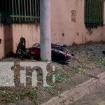 nicaragua, managua, fallecido, motociclista,