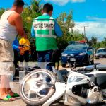 nicaragua, policia nacional, accidente de transito, fallecimiento, invasion de carril