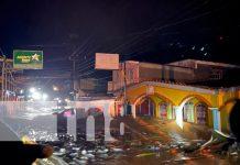 Chontales: Crecida de río en Santo Domingo genera afectaciones / FOTO / TN8