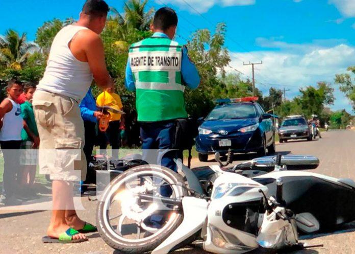 nicaragua, policia nacional, accidente, nueva segovia, exceso de velocidad