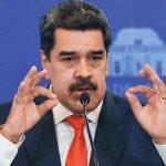 Presidente de Venezuela, Nicolás Maduro, en conferencia de prensa