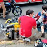 nicaragua, accidente, casco de seguridad, motociclista, daños