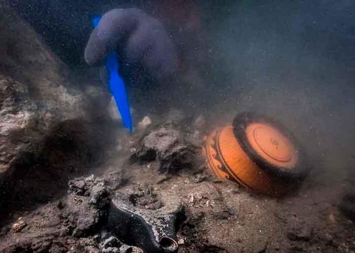 ciencia, descubrimiento, egipto, ciudad antigua, barco militar