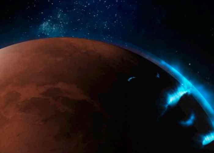 ciencia, marte, auroras, sonda hope, caracteristicas