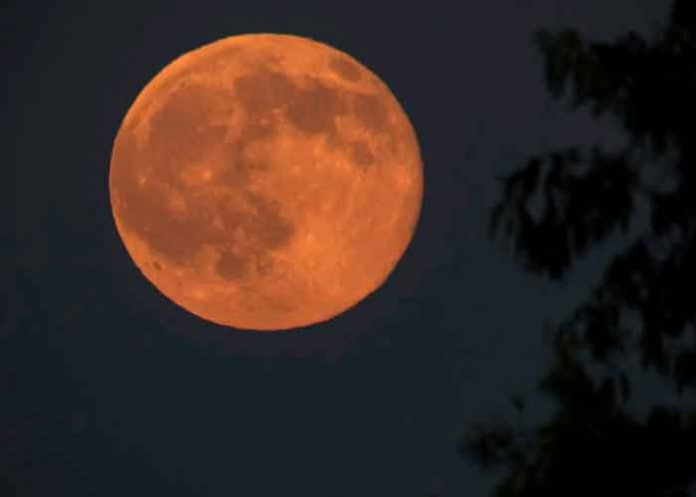 ciencia, fenomenos astronomicos, luna llena ciervo, nativos, visualizacion