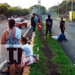 nicaragua, accidente de transito, peatones, policia nacional, managua