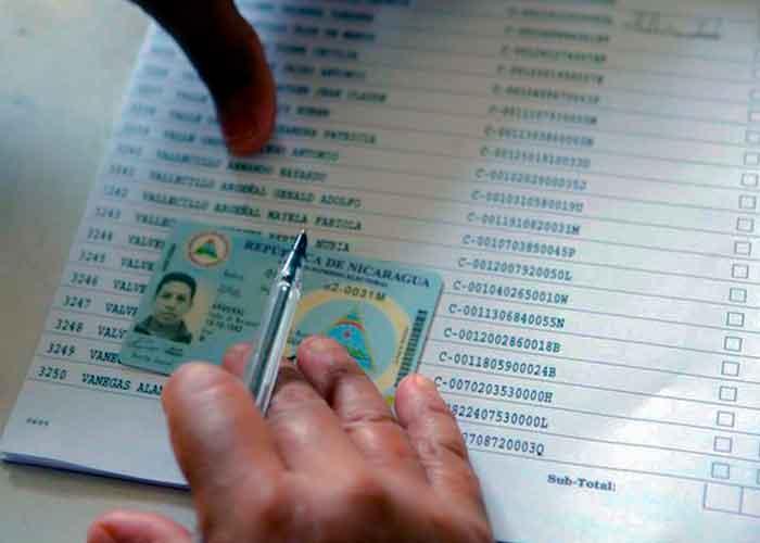 nicaragua, consejo supremo electoral, centros de votacion, elecciones, juntas