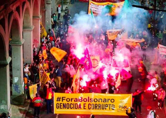 brasil, jair bolsonaro, protestas, corrupcion, manifestaciones