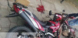 Motociclista ocasiona accidente de tránsito