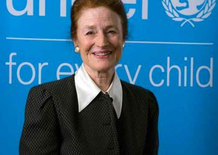 Foto: Mensaje a la directora ejecutiva de UNICEF / Cortesía