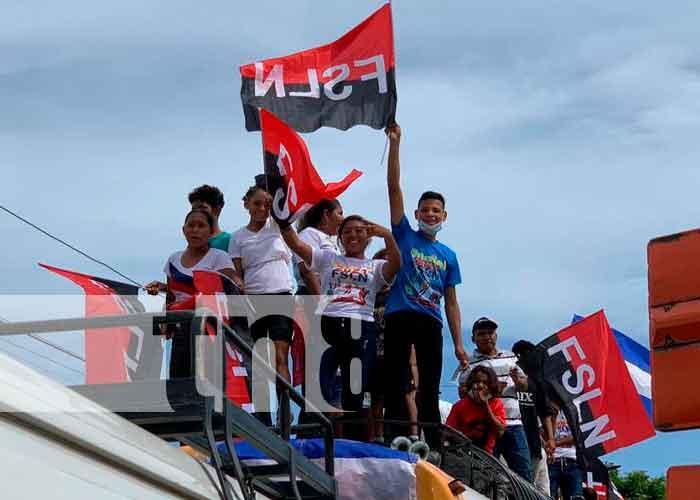 Foto: Chinandega celebra a lo grande el 19 de julio/TN8