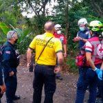 Miembros del Cuerpo de rescarte Costa Rica