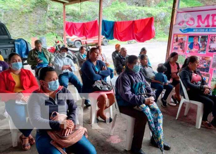 Beneficiados de micro créditos en Jinotega