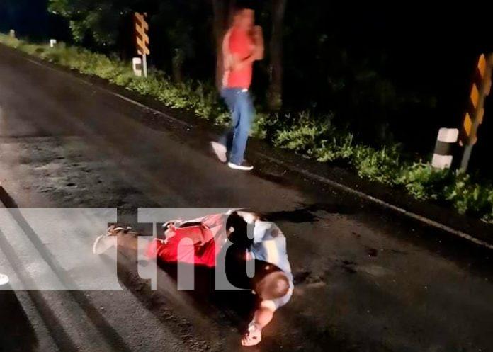 nicaragua, chontales, motociclista, lesiones,
